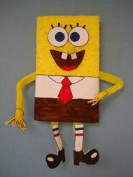 Spongebob Craft Spongebob Crafts Diy For Kids Spongebob