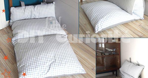 coussin de sol pliable lounge d co r cup diy littlecuriosit d coration chambre enfant. Black Bedroom Furniture Sets. Home Design Ideas