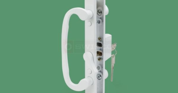 82 073 Legacy Keyed Handle Set 3 15 16 1 3 8 Door Swisco Com Door Handle Sets Sliding Glass Door Glass Door