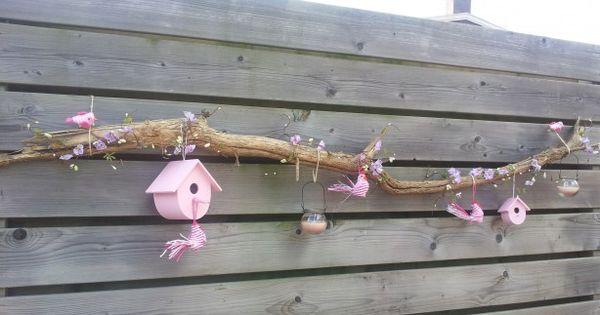 Een leuke versiering voor een schutting outdoor for Leuke versiering