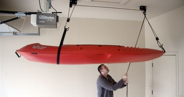 Overhead Ceiling Kayak Storage Nyc Easy To Use Holds