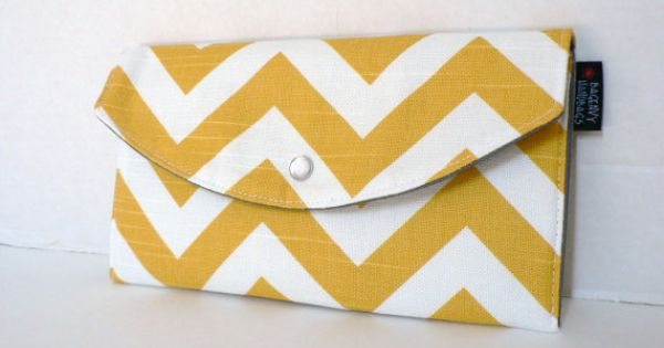 Chevron Wedding Clutches