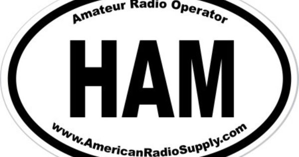 american radio supply - ham sticker
