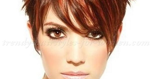 Short Spiky Haircuts for Round Face Women Bing