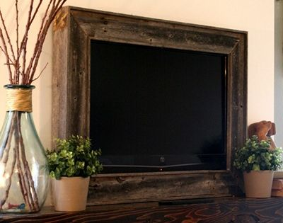 Framing in a Wall Mount TV - possible idea for the flat