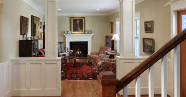half wall with column design pictures remodel decor and