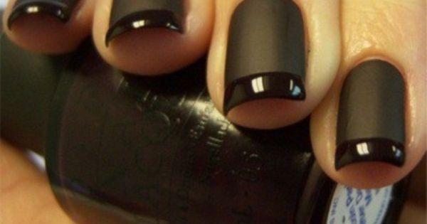Matte Black Nails Lisa Lynn Clcik To Take A Survey With And