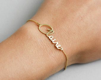 Bracelet Custom Name Jewelry Gift