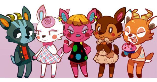 deer villagers | Animal Crossing Fan Art | Pinterest ...