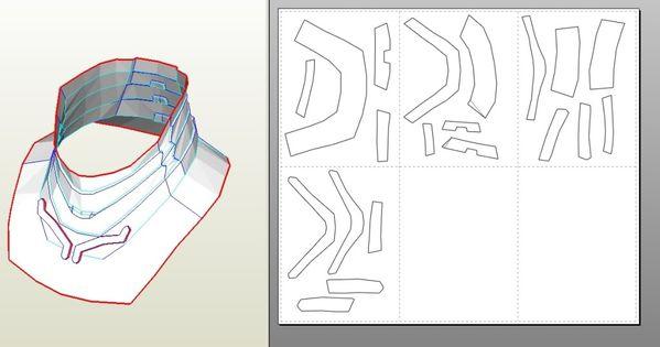 IRON MAN Mark 4/6 Pepakura FOAM Templates- *Video Tutorial ... Iron Man Arm Template
