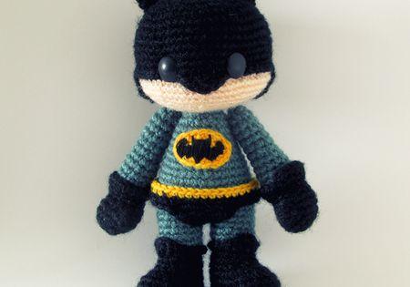 Amigurumi Anleitung Kostenlos Batman : Batman Amigurumi - Free Pattern Craft Yarn Pinterest ...