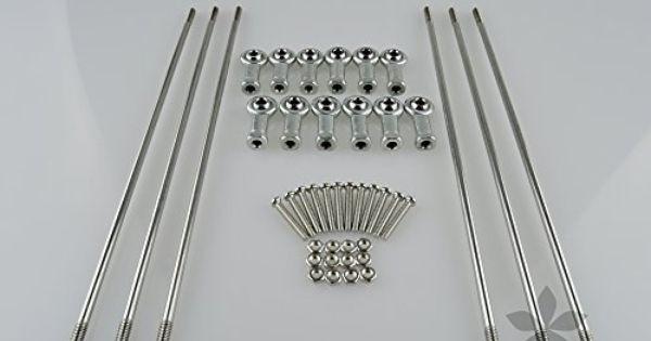 sintron 3d printer steel diagonal push rod arm rod end. Black Bedroom Furniture Sets. Home Design Ideas