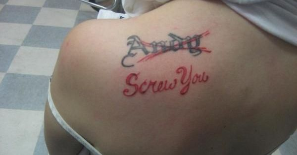 This is why you should never get a tattoo of your true