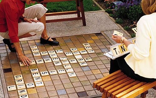 "Backyard Scrabble ""I like areas of double use,"" says Sacramento architect Kristy"