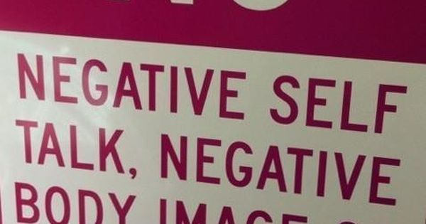 No negative self talk - Motivational quotes and posters