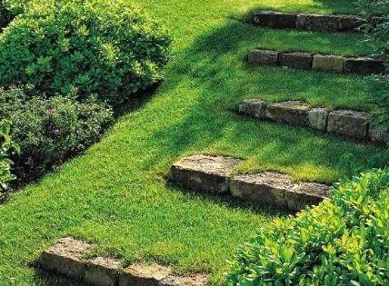 18 solutions pour cr er un escalier ext rieur pelouse - Creer un escalier exterieur ...