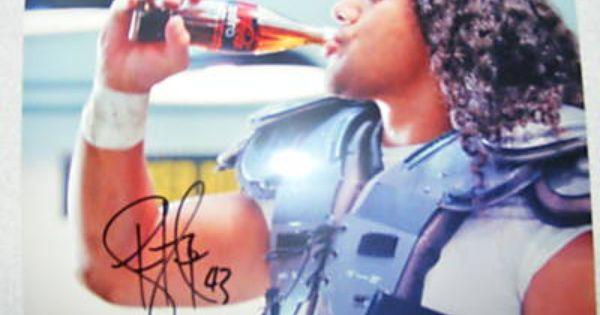 Troy Polamalu Auto 8x10 Coke Commercial Photo Steelers Ebay Troy Polamalu Coke Commercial Steelers
