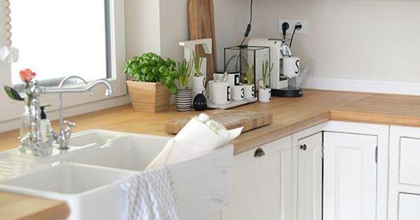 kueche landhausstil blog pinteres. Black Bedroom Furniture Sets. Home Design Ideas