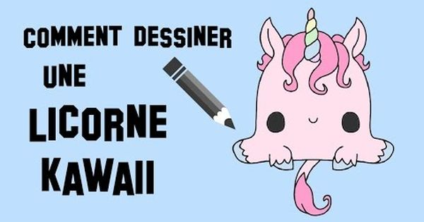 Comment Dessiner Une Licorne Kawaii - YouTube …