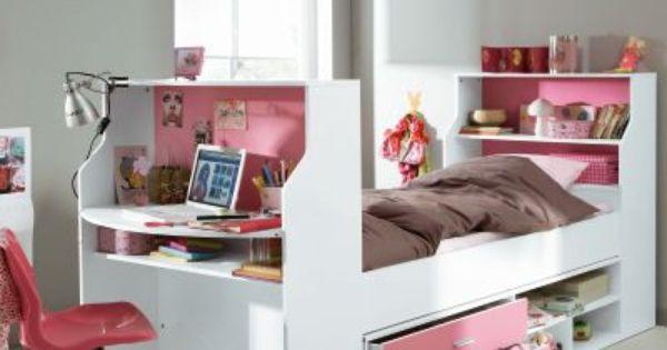 lit mezzanine avec plan de travail tag res lit bureau. Black Bedroom Furniture Sets. Home Design Ideas