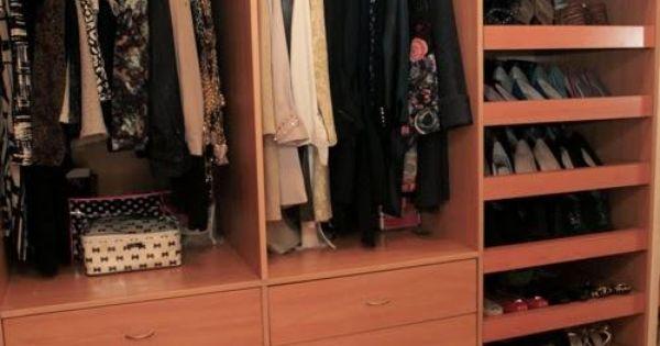 Zapatera ideal para un closet peque o dise o closet for Diseno zapateras para closet