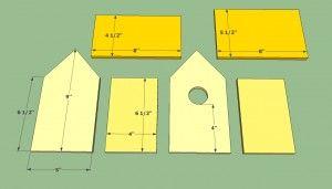 How To Build A Bird House Howtospecialist How To Build Step By Step Diy Plans Bird House Plans Free Wooden Bird Houses Bird House Kits