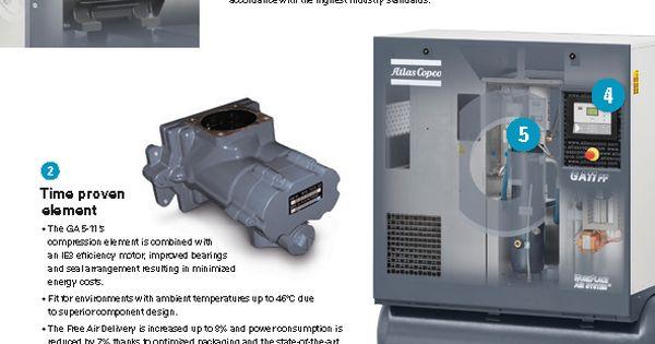 Pin On Atlas Copco Rotary Screw Air Compressor