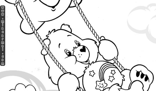 wish bear coloring pages - photo#25