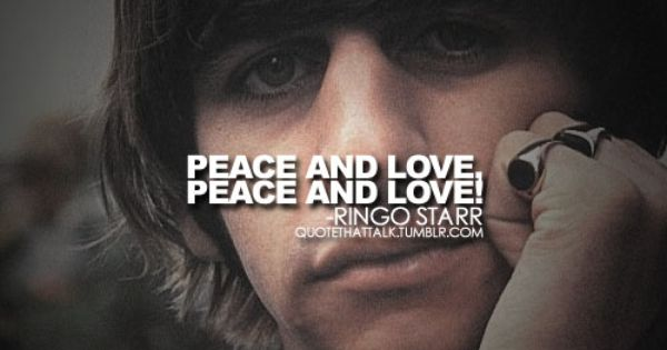 ringo starr quotes - Google Search | quotes | Pinterest ...