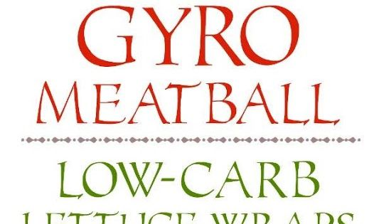 Ground Beef Gyro Meatball Lettuce Wraps with Tzatziki and Tomatoes ...