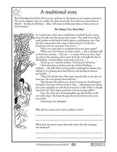 3rd Grade 4th Grade Reading Writing Worksheets Reading