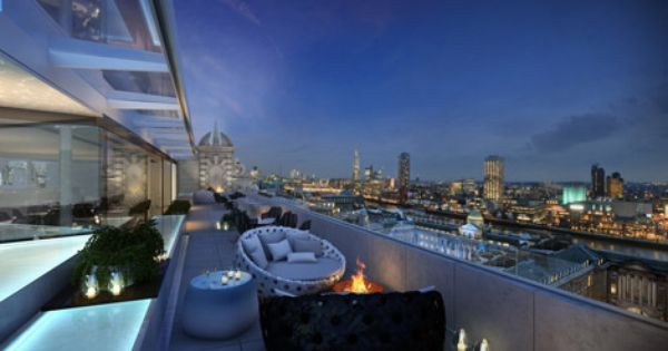 Melia Gears Up For Me London Opening London Rooftops Best Rooftop Bars London Hotels
