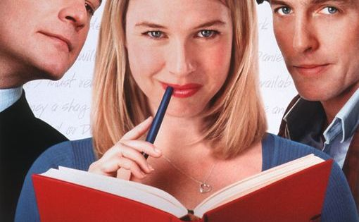 """Bridget Jones's Diary"" (2001)--A British woman is determined to improve herself while"