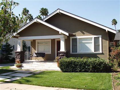 California Bungalow Best Part For Me Is The Large Front Porch Which Is Characteristic Of Th Bungalow Exterior Craftsman Bungalow Exterior Bungalow House Plans