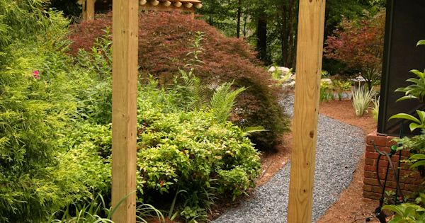 japan garden wood bridge and gate google keres s japan garden pinterest selber machen. Black Bedroom Furniture Sets. Home Design Ideas