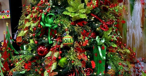Christmas Tree Red & Green