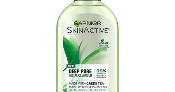 Garnier Skinactive Face Wash With Green Tea Oily Skin Garnier