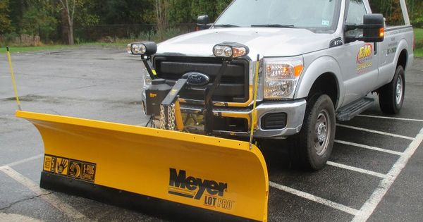 2015 Ford F 350 Meyer Lot Pro 8 Plow Truck Snow Plow Snow Plow Truck