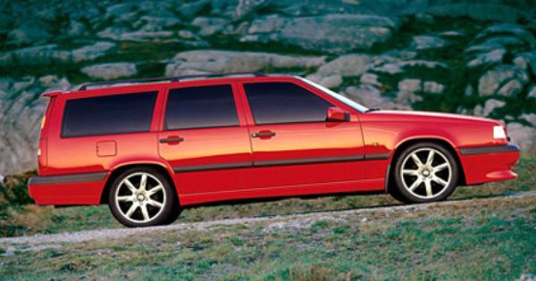 "96 Volvo 850R looking beautiful on silver 17"" Volans. 