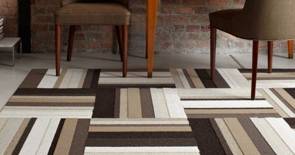 Soft Varied Textural Bands Of Colorful Stripes That Literally Span The Rainbow Use Alone Or Mix Them Up The Carpet Tiles Brown Carpet Stripes Pattern Design