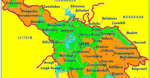 Co Cavan Home Of Many Of The Sheridan Ancestors Also Many Of