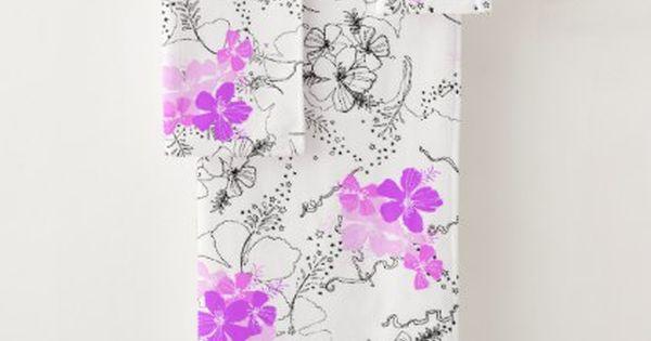 Midnight Garden Hawaiian Hibiscus Coordinate Pink Bath Towel Set