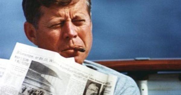 JFK and his Cuban cigars