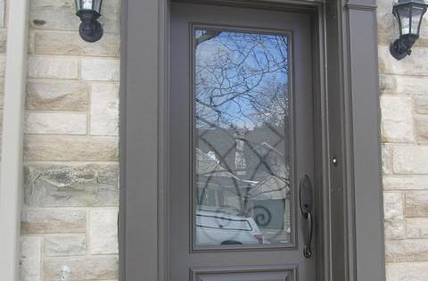 Fibreglass Door Entry With Matching Pilasters And Pediment Door Surround Curb Appeal