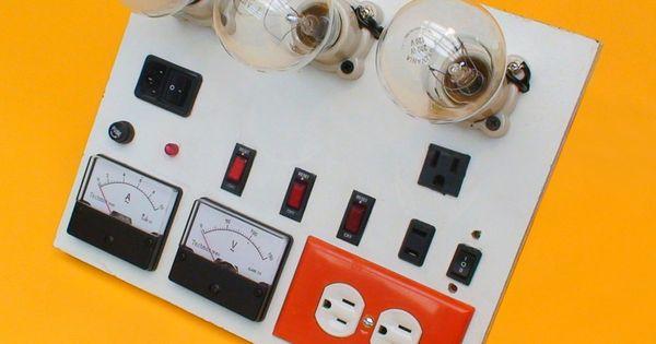 Construya Un Tablero De Pruebas Para Su Taller De Electronica Electricidad Y Electronica Electrónica Proyectos Eléctricos