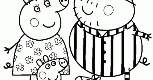 pigs in pajamas coloring pages - photo#12