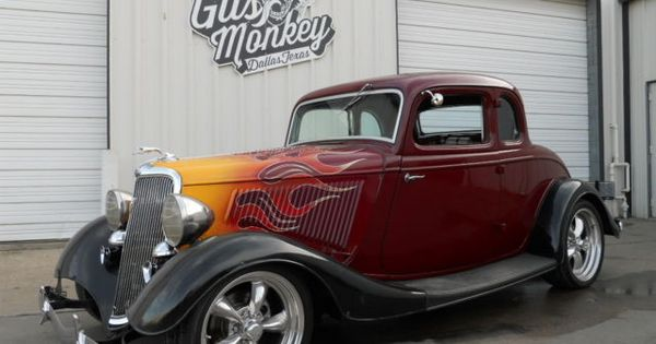 1934 ford 5 window coupe by gas monkey garage ford for Garage ford 78 plaisir