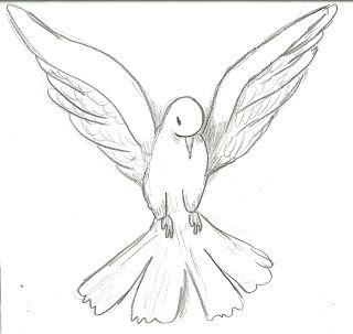 Desenhos De Pombas Para Colorir Espaco Educar Desenho De Pomba