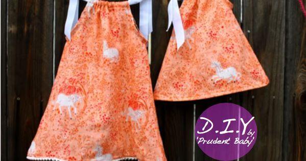 DIY Pillowcase Dresses Tutorial