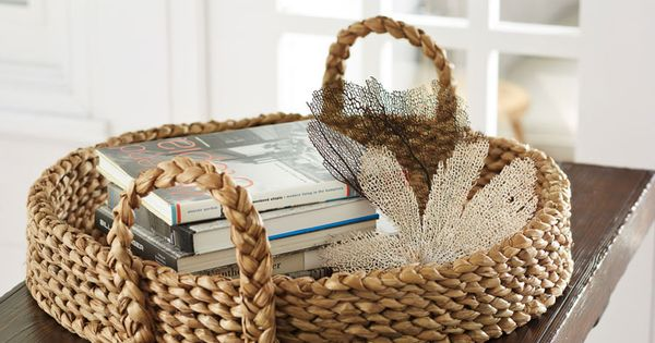 Baskets Beach Basket And Book Baskets On Pinterest
